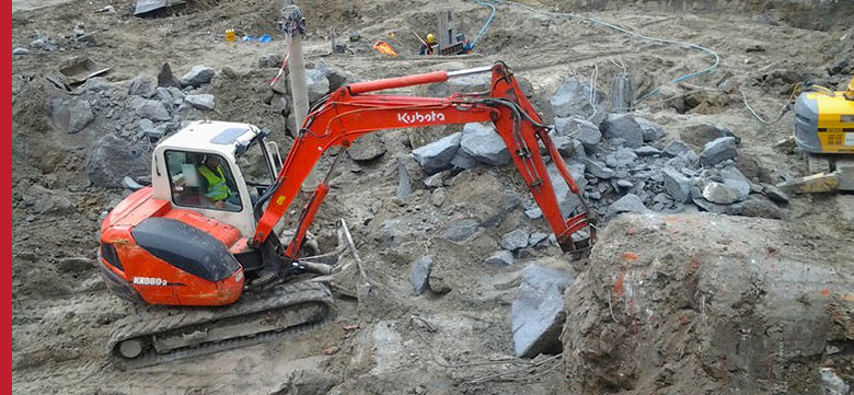 Demolition of industrial buildings, demolitions Warsaw