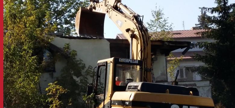 Demolition of industrial buildings, demolitions Warsaw, construction works