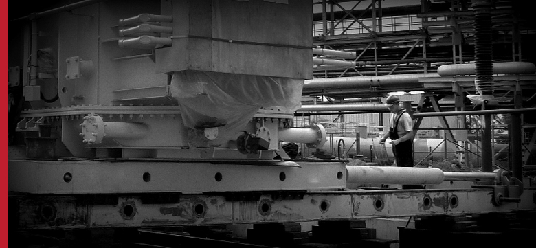 Project Cargo, Project Forwarding, Poland - horizontal and vertical travel of heavy loads: transformers, generators, turbines, tanks
